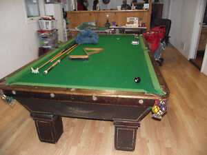 POOL TABLE REMOVAL AND INSTALL, 40 YRS EXP