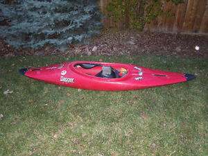 Dagger River Kayak with paddle