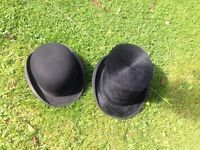 Vintage bowler and top hat for sale