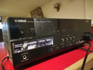 Yamaha Receiver & Fluance Tower Speakers
