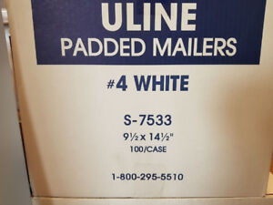Uline Padded Mailing Envelopes