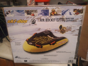 Ski doo inflatable can be used on water as well