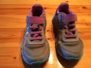 Chaussures Under Armour - grandeur enfant 13US