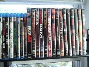 DVD's and Blu Rays (For Sale or Trade)