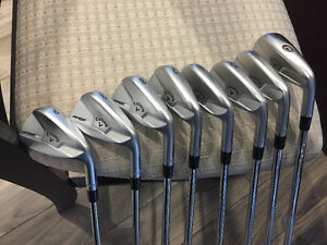 Callaway Apex MB forged irons + 3 UT