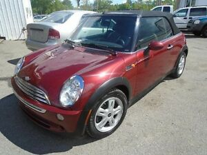 Mini Cooper Convertible 2dr 2008