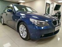 BMW 5 Series 2.5 525d SE Blue Auto 174BHP Leather DIESEL WARRANTY 12 MONTHS MOT