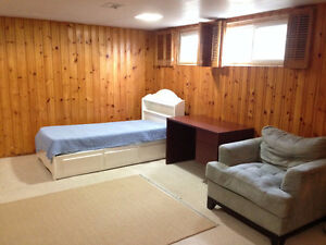 ONE BEDROOM BASEMENT FOR PROFESSIONAL SINGLE