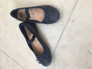 Girls geox shoes size 12