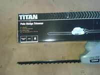 Titan long reach hedge trimmer