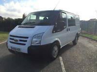 FORD TRANSIT 280 SWB LOW DOUBLE / CREW CAB 2.2 FWD 115 BHP 6 SPEED 2011 61