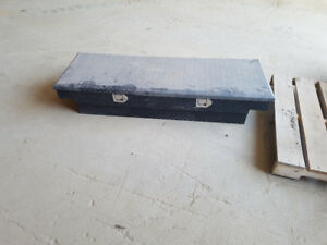 2 Aluminum Truck Tool Boxes for Small Pickup's