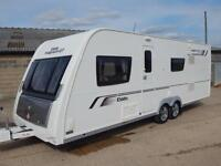 Elddis MAGNUM GT 636, 2013, Twin Axle, 6 Berth, Fixed Bunks, Awning, VGC!