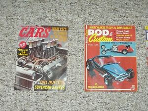 Vintage High Performance Auto and Truck Magazines - NEW PRICE