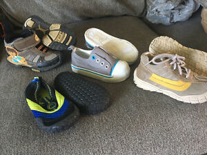 Assorted boy shoes for sale size 7-8