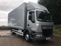 2014 14 DAF LF 180 Euro 6, 14 tonne, 22ft box, manual, sat nav, 160kms