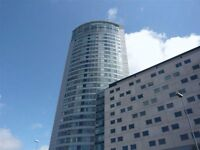 Cleaning of a studio at Beetham tower