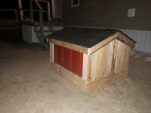 Custom built dog/cat homes