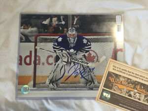 James Reimer Autographed picture w/ Certificate of Authenticity