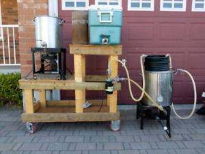 home brewing equipment - 10 gal complete setup