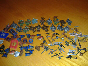 Mega Bloks Halo Minifigures minifigs  and weapons