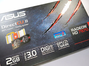 ASUS - HD7870 (V2) - 2GB DDR5 - GPU - BEST OFFER Kitchener / Waterloo Kitchener Area image 1