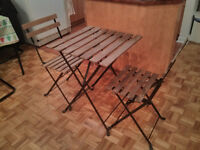 Ikea Tarno Outdoor Set 1 Table 2 Chairs