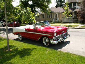 1956 Chev Bel Air convertible
