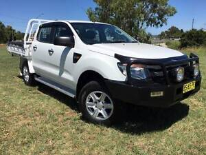2012 Ford PX Ranger XL 4x4 Dualcab Trayback Ute. 3.2 Diesel Inverell Inverell Area Preview