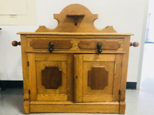 Antique Washstand with towel racks