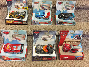 New! Disney Cars ice drifters and power turners
