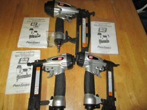 3 Air tools for $150, 2 air nailers and an air stapler