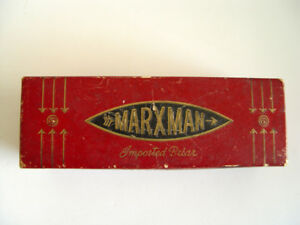 "Marxman, Imported ""Briar"" Pipe Box, NYC. (BOX ONLY)"
