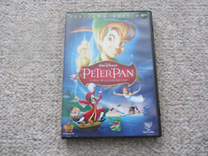 Disney's Peter Pan on DVD - 2-Disc Platinum Edition