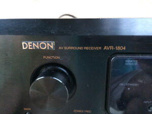 6.1 channel DENON AVR 1804 RECEIVER AMPLIFIER 90 watt