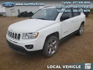 2012 Jeep Compass Limited  - local - trade-in