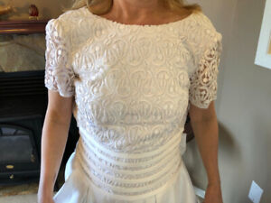 Brand New Alfred Sung Wedding Dress, Size 10, $60