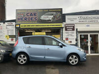 2011 RENAULT SCENIC 1.6 VVT DYNAMIQUE TOM TOM (AA) WARRANTY INCLUDED