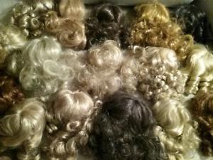 7 Doll Wigs ($1 Each)