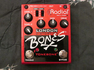 Radial Engineering - Bones - London Distortion (Dual) Strathcona County Edmonton Area image 1