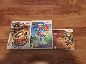Wii Games - Two games $20 and one for $10