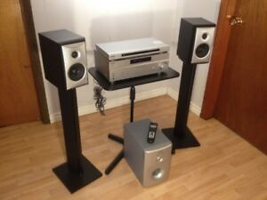 Sony and Angstrom 2.1 200 Watt Home Stereo