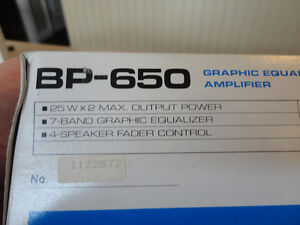 Vintage Pioneer BP-650 7 Band Graphic Equalizer w/Box & Manual Kitchener / Waterloo Kitchener Area image 8