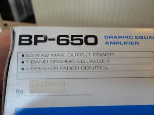 Vintage Pioneer BP-650 7 Band Graphic Equalizer w/Box & Manual Kitchener / Waterloo Kitchener Area image 8