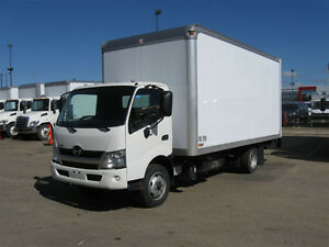 2014 Hino Box Diesel with 16' Box and Rear Gate Lift