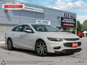 2016 Chevrolet Malibu 1 Owner, Navi, Roof, Leather, Accident Fre