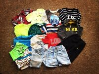 Baby boy clothes bundle 9-12 moths Nike Next TU River island