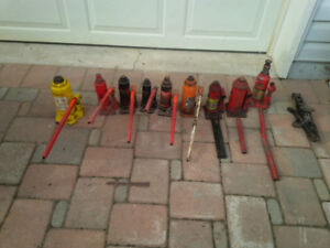 Hydraulic Bottle Jacks $1.30 a TON Call or Text 705-440-9159