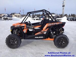 2016 Polaris RZR XP Turbo EPS Spectra Orange - $2000 Off
