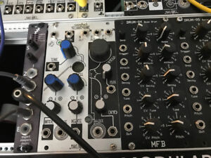 Various Eurorack synth modules